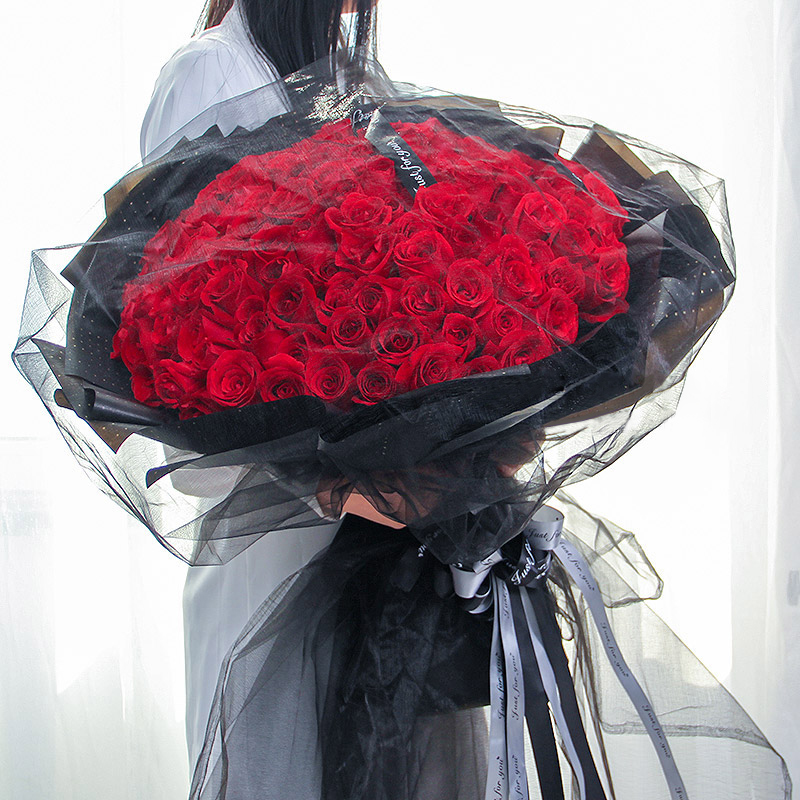 愛意濃-99支精品紅玫瑰