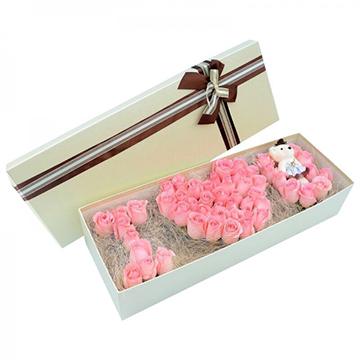 粉色的愛戀-66支精品粉玫瑰