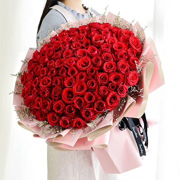 此情不渝-99支精品紅玫瑰
