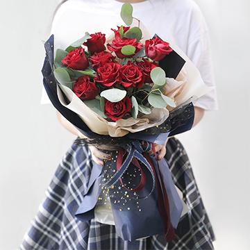 愛的就是你-11支精品紅玫瑰