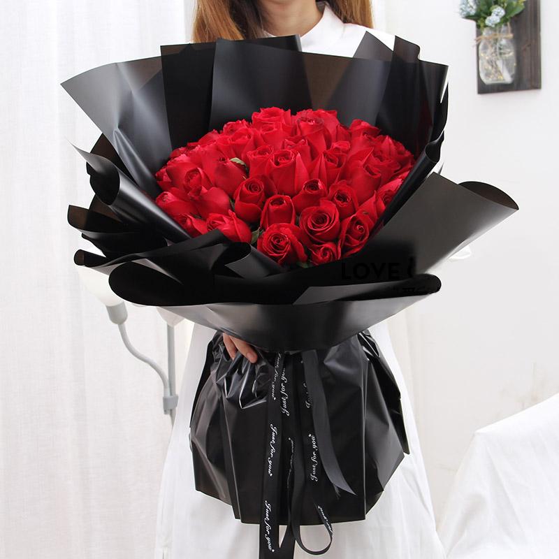 愛到深處-33支精品紅玫瑰