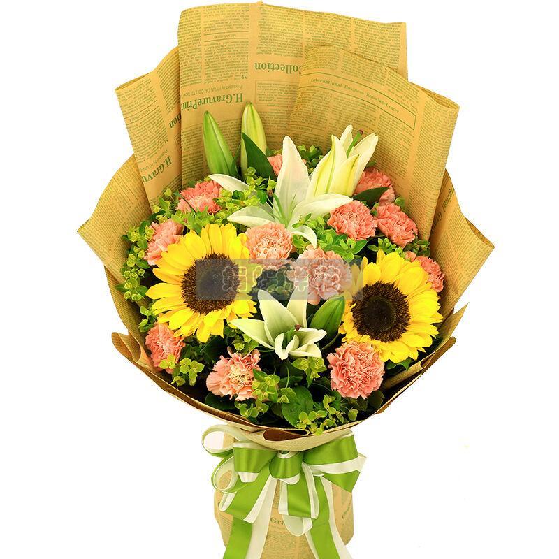 送朋友鲜花