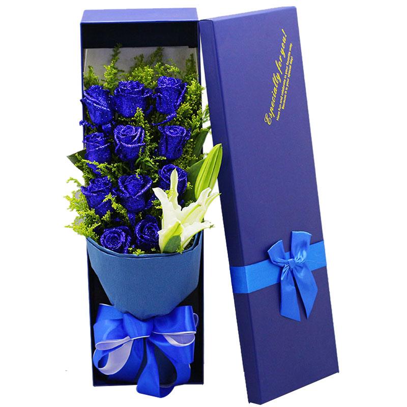 蓝色妖姬和蓝玫瑰有什么区别