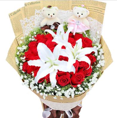 情人节适合送什么花