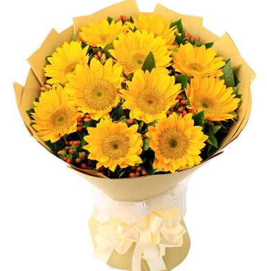 同事生日送什么颜色的花