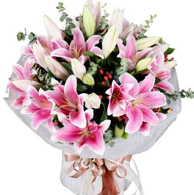 祝福闺蜜新婚可以送什么花