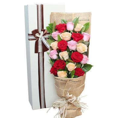 给朋友送什么花