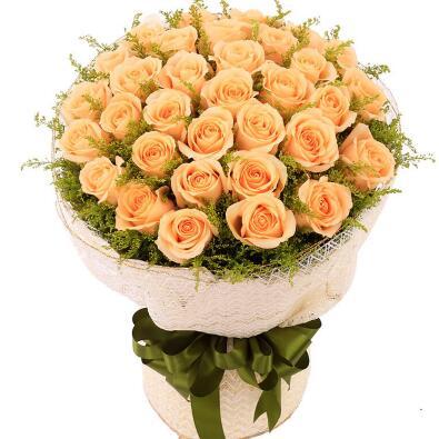 16朵香槟玫瑰花语是什么?