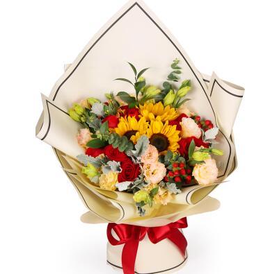 好朋友送什么花