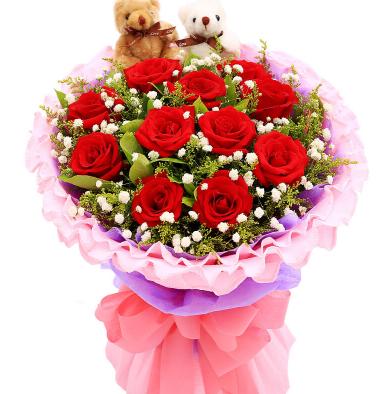 给老公送什么花