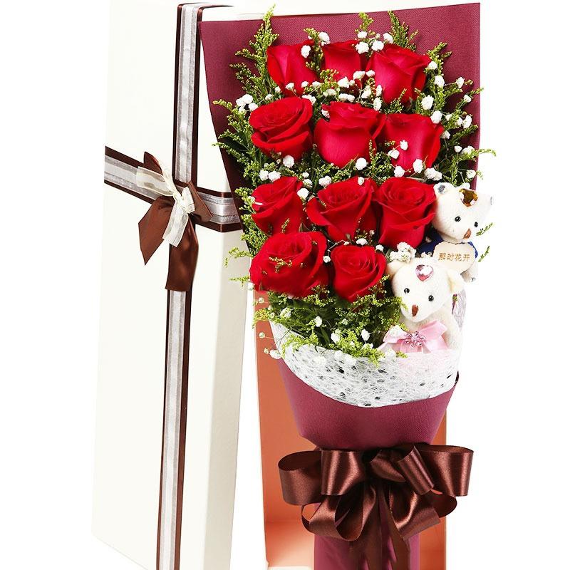 情人节送女友玫瑰,百合,行不行!