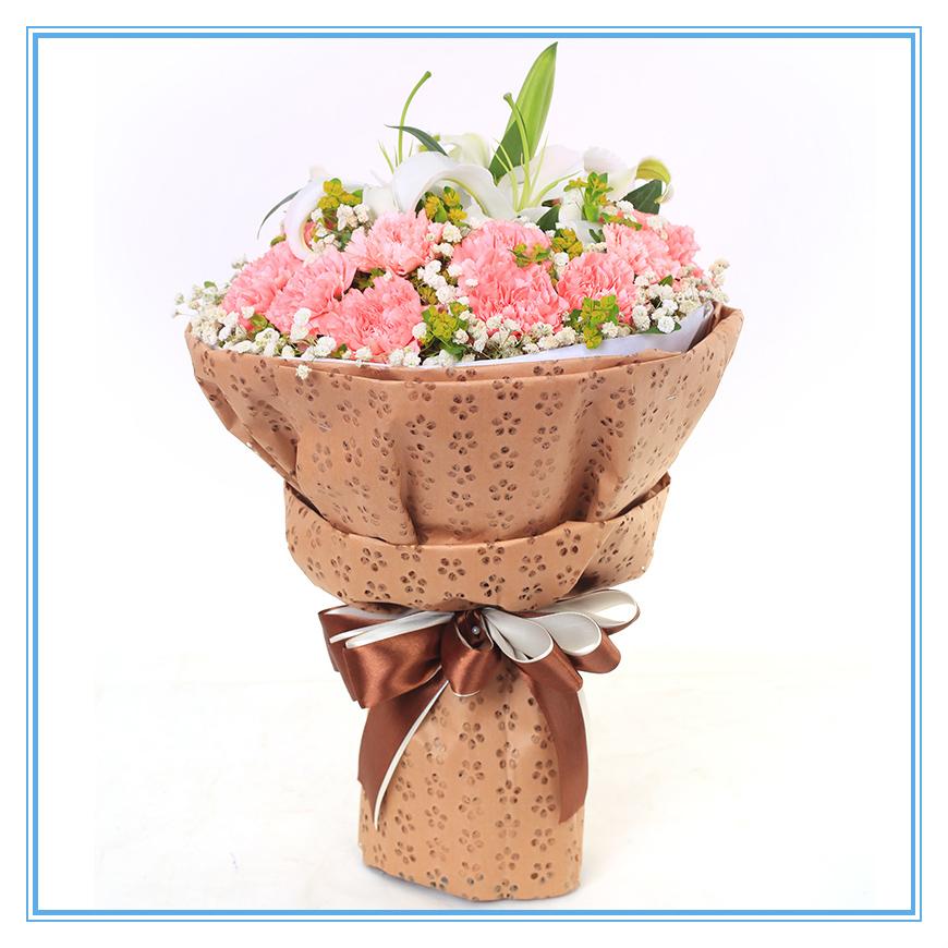 老年人过生日送什么花