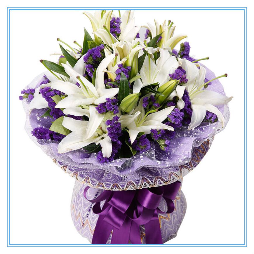 女朋友生日送什么鲜花