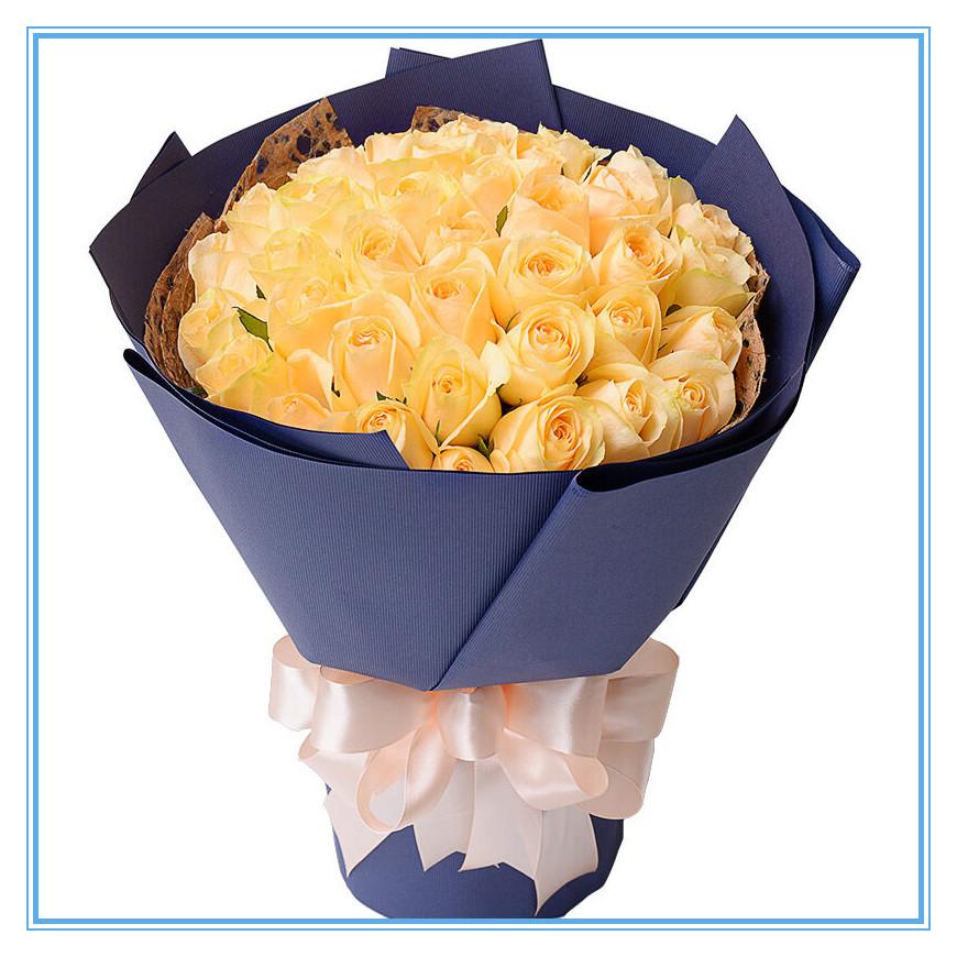 男朋友生日送香槟玫瑰好吗