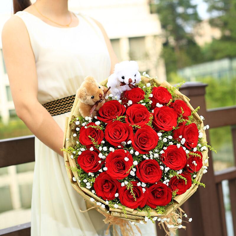 天津津南区女朋友生日送什么鲜花最好