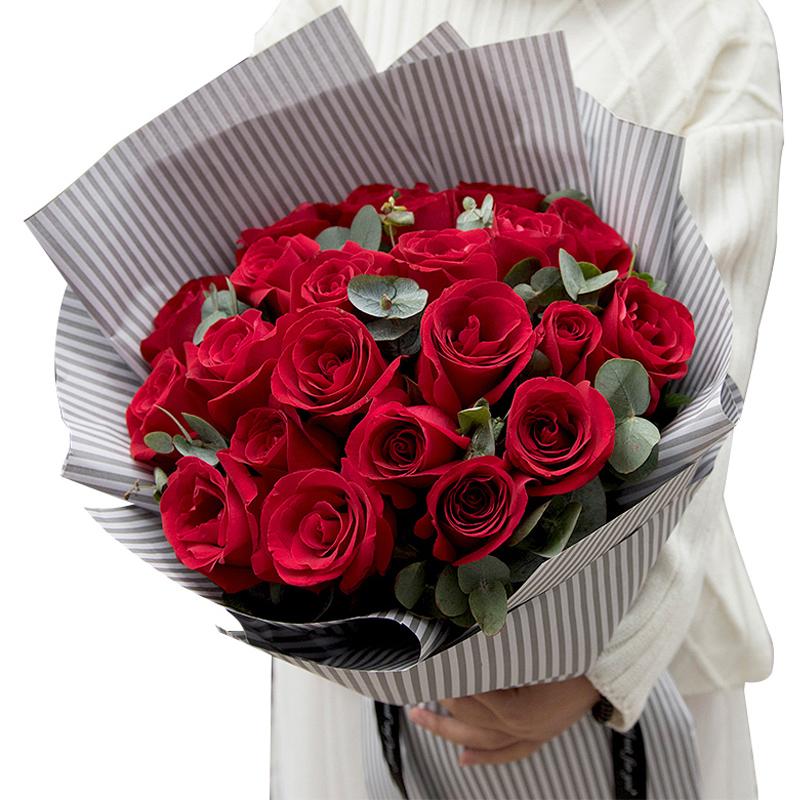 *爱的是你-21支精品红玫瑰
