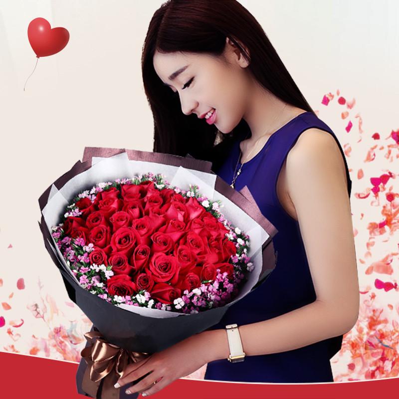 今生只爱你-33支精品红玫瑰