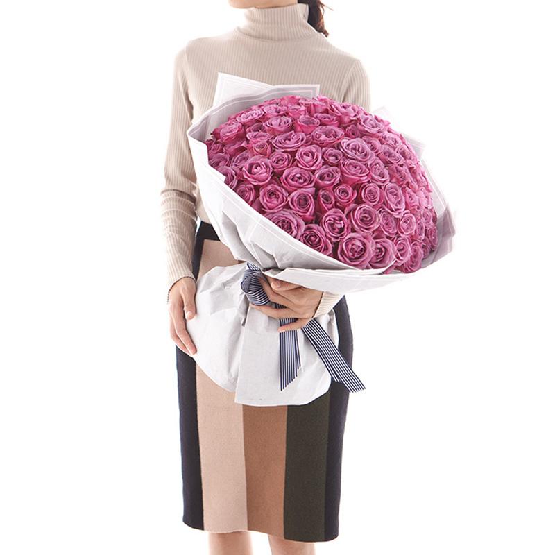 为你动情-99支精品紫玫瑰