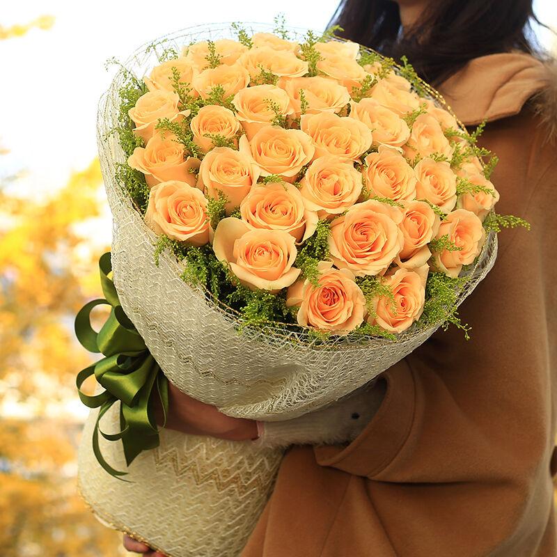 朋友生日赠送香槟玫瑰怎么样