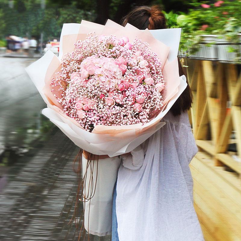 春风拂面-巨型熊抱花束鲜花