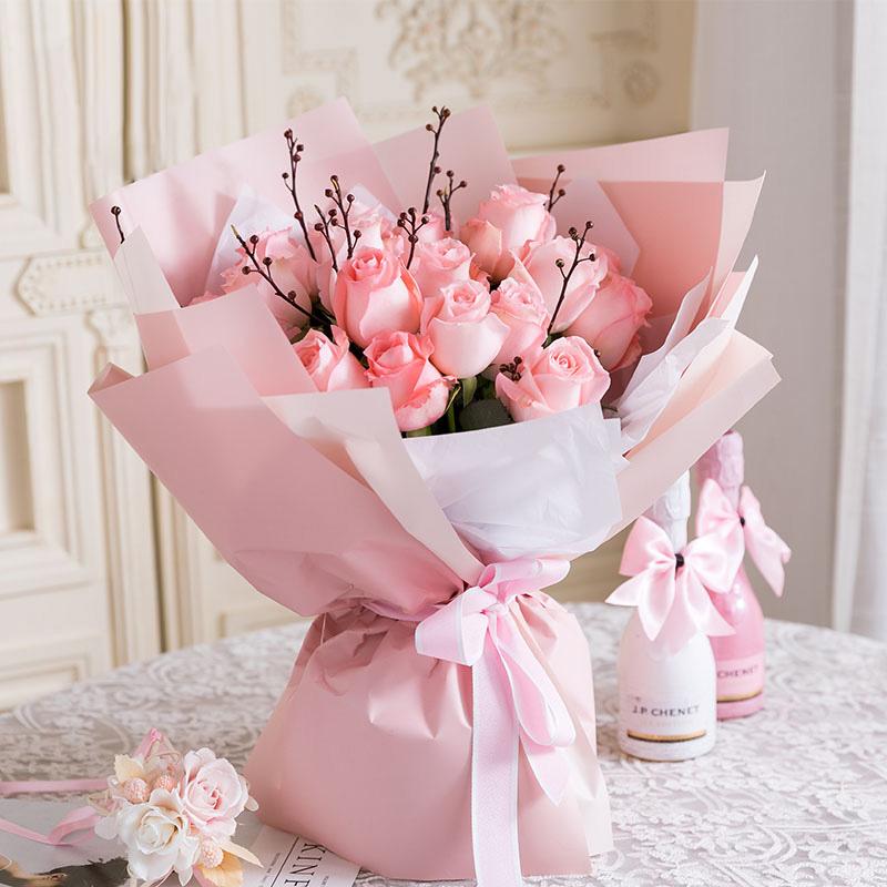 一束花在一般的花店要多少钱