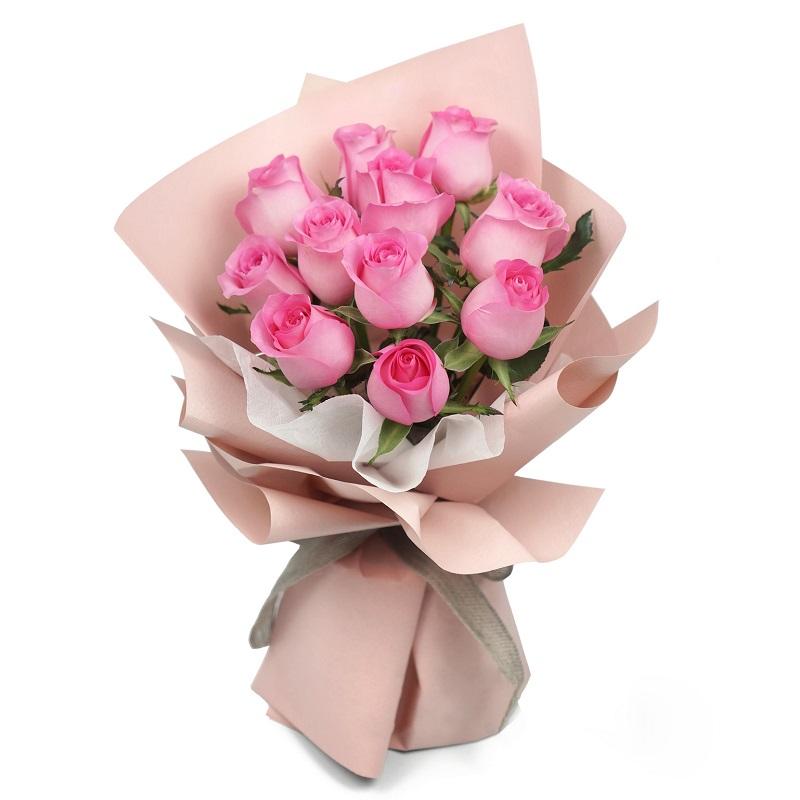 七夕节11朵玫瑰包装好多少钱?情人节玫瑰花多少钱一朵?