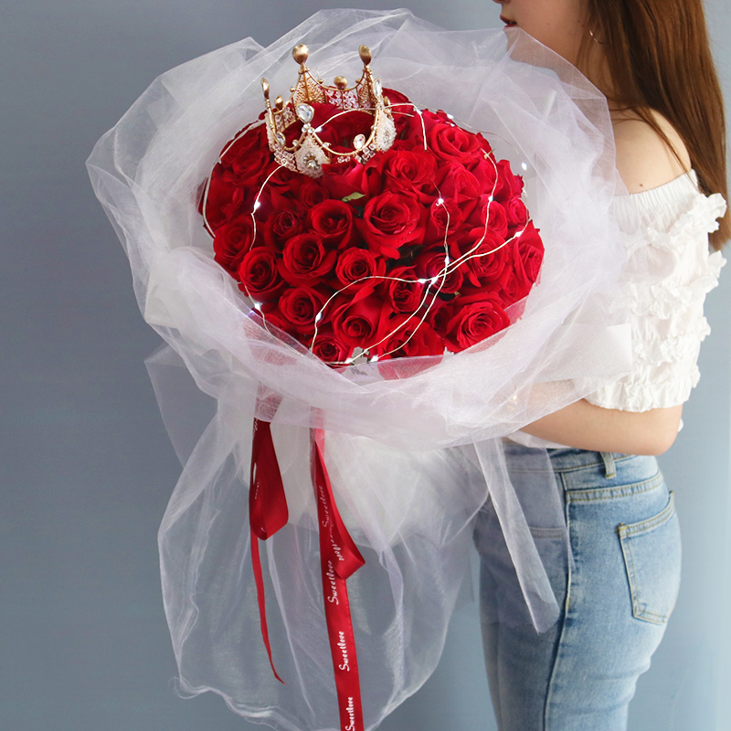 送给老婆的生日鲜花浪漫祝福语