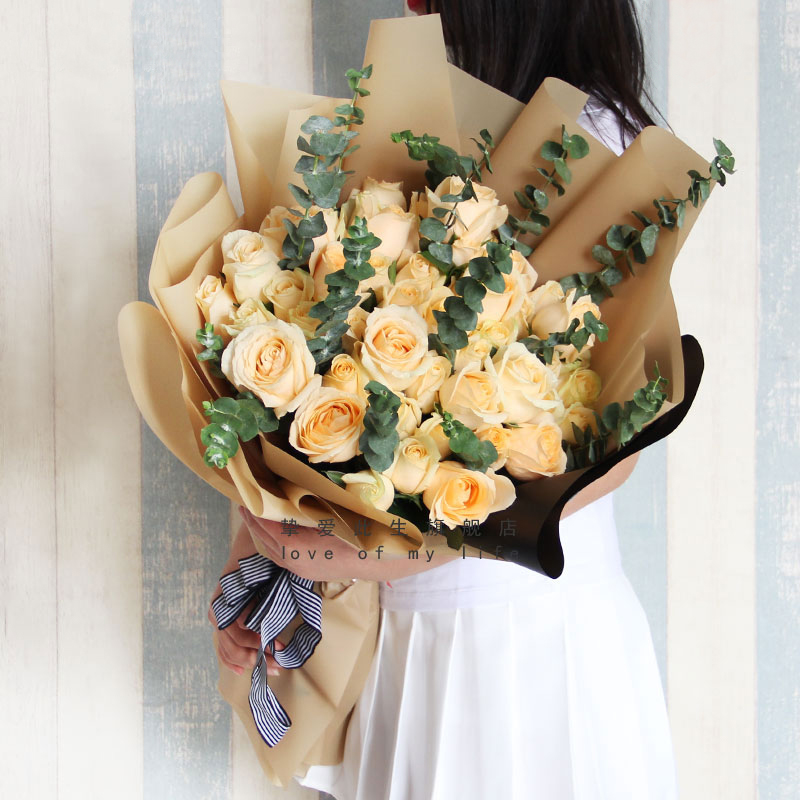 送花给女孩说什么好