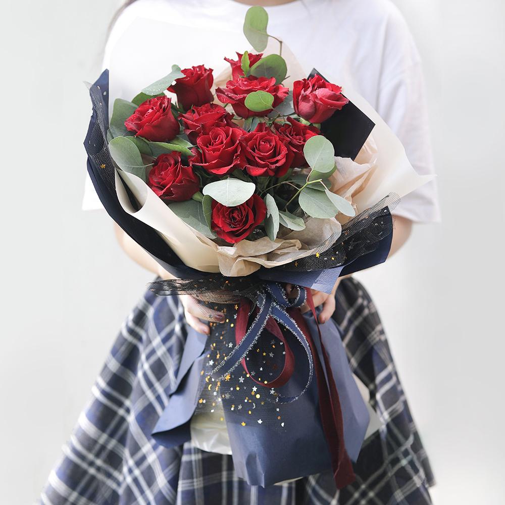 中秋节送花给女朋友有推荐吗