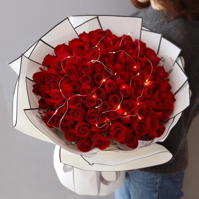 用鲜花表达情感-谈送花礼仪