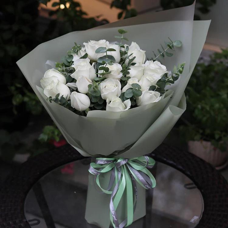 送女朋友鲜花祝福语大全