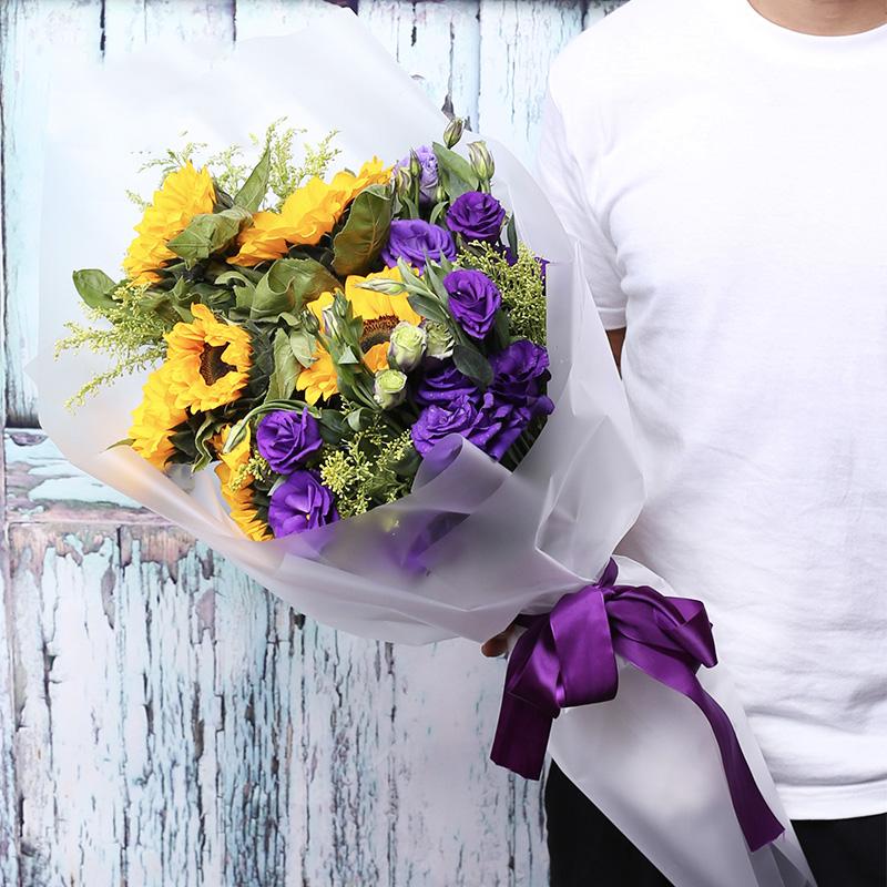 学姐拍毕业照要送什么花?