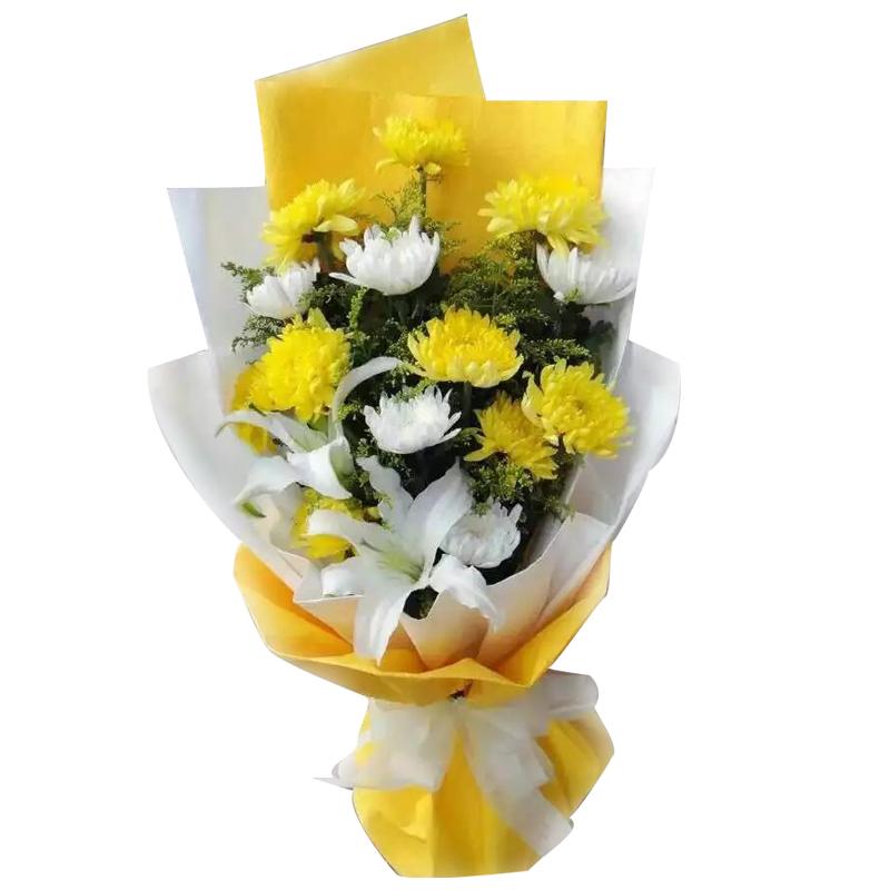悼念老人送什么花_看望去世老人送什么花