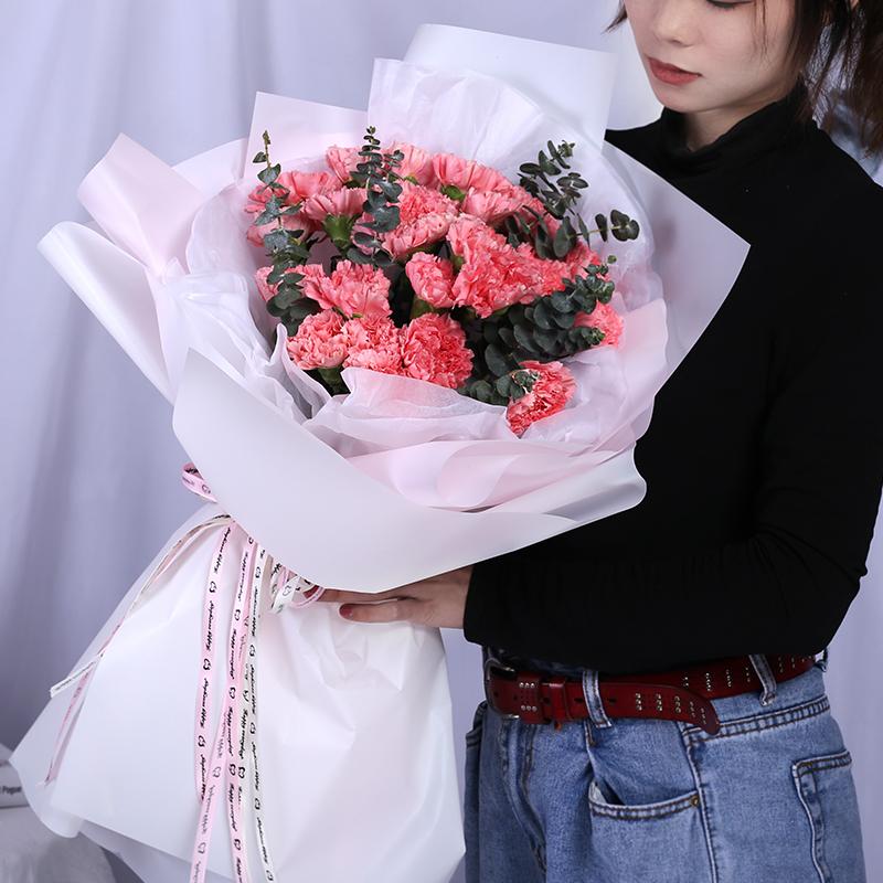 19支康乃馨花语是什么呢?