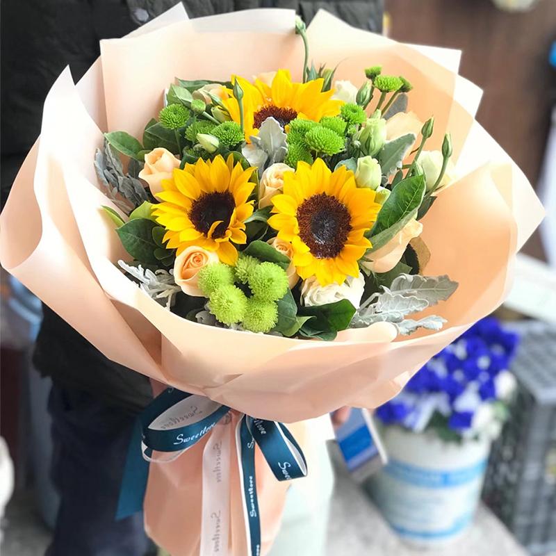 雅安鲜花店可不可以送花上门