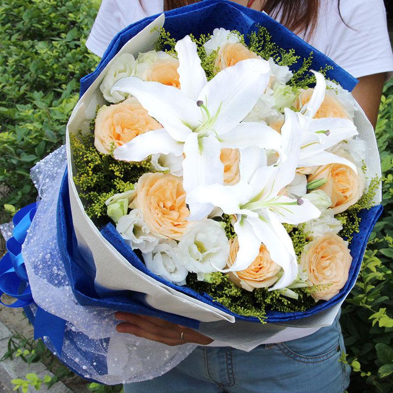 送客户鲜花推荐