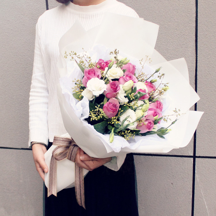 博乐市花店网上鲜花速递靠谱吗