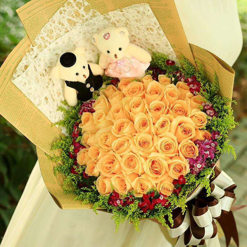 阳江市花店支持网上订花吗