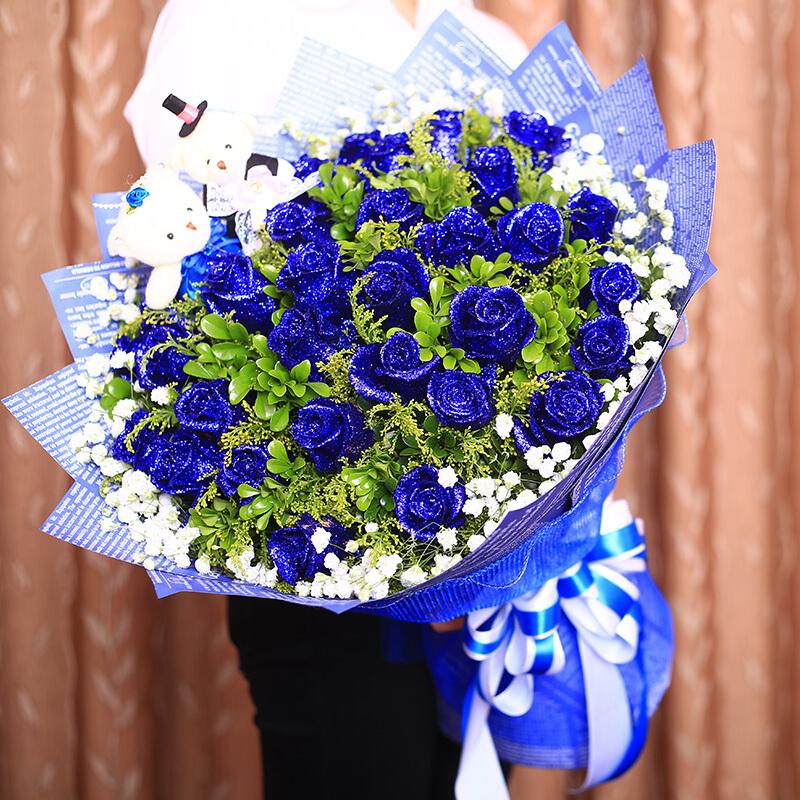 送女朋友蓝色妖姬代表什么_送女朋友蓝色妖姬好不好