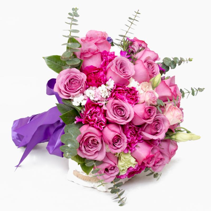 新娘手捧花用什么花好