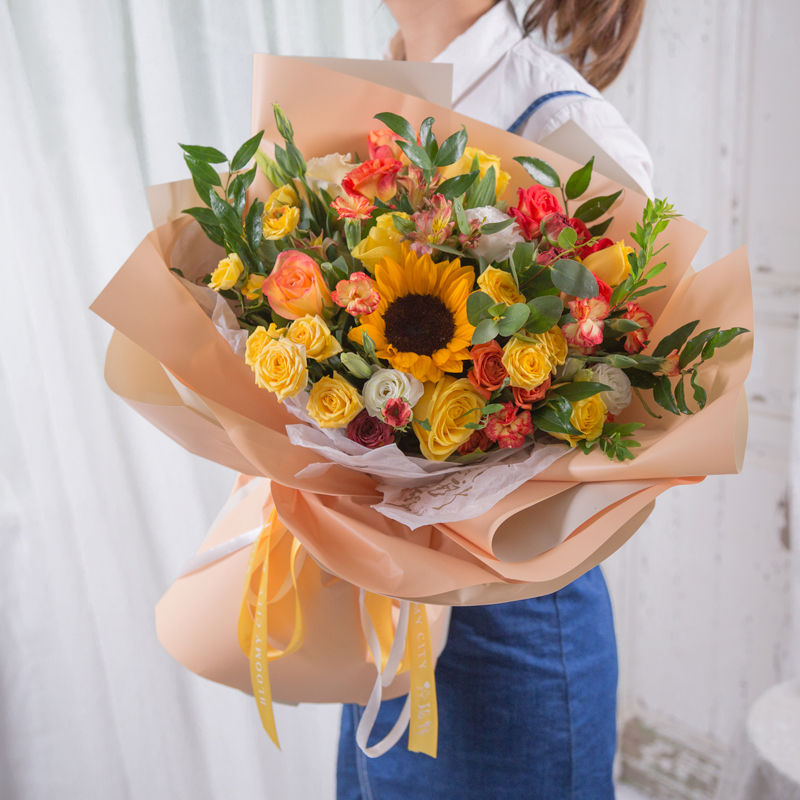 男士生日送花送什么花?盘点适合男闺蜜生日的鲜花!