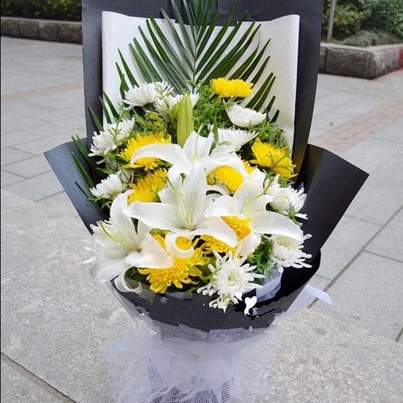 给老人上坟买几朵花?上坟送什么花?