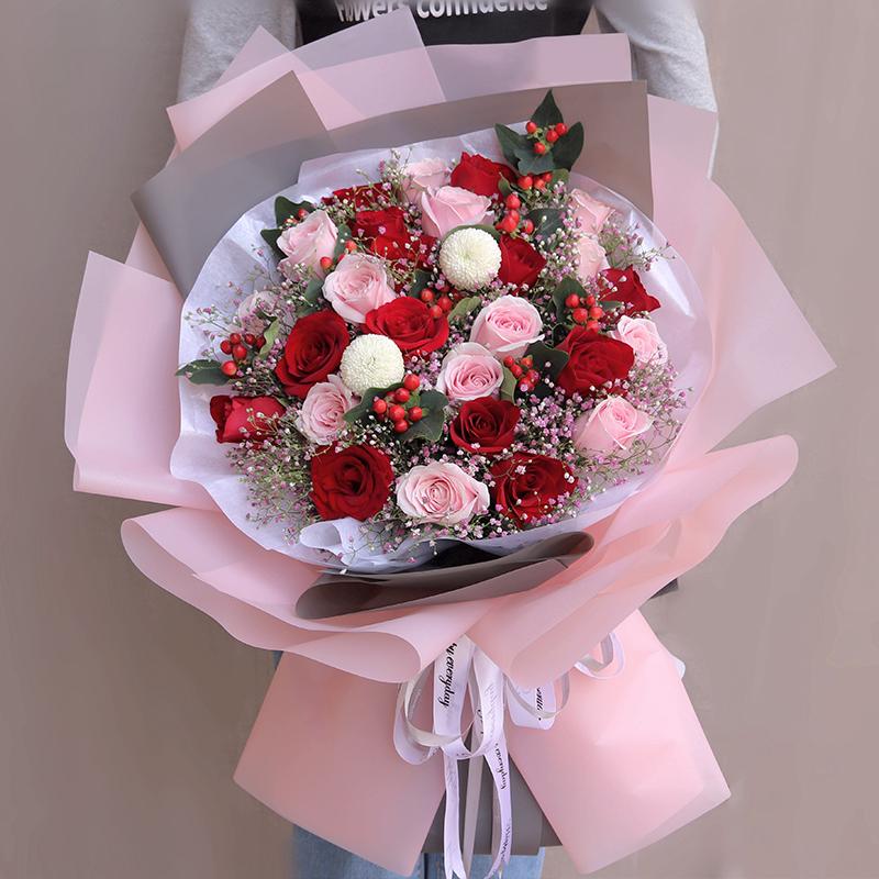 女朋友过生日送哪些鲜花*好