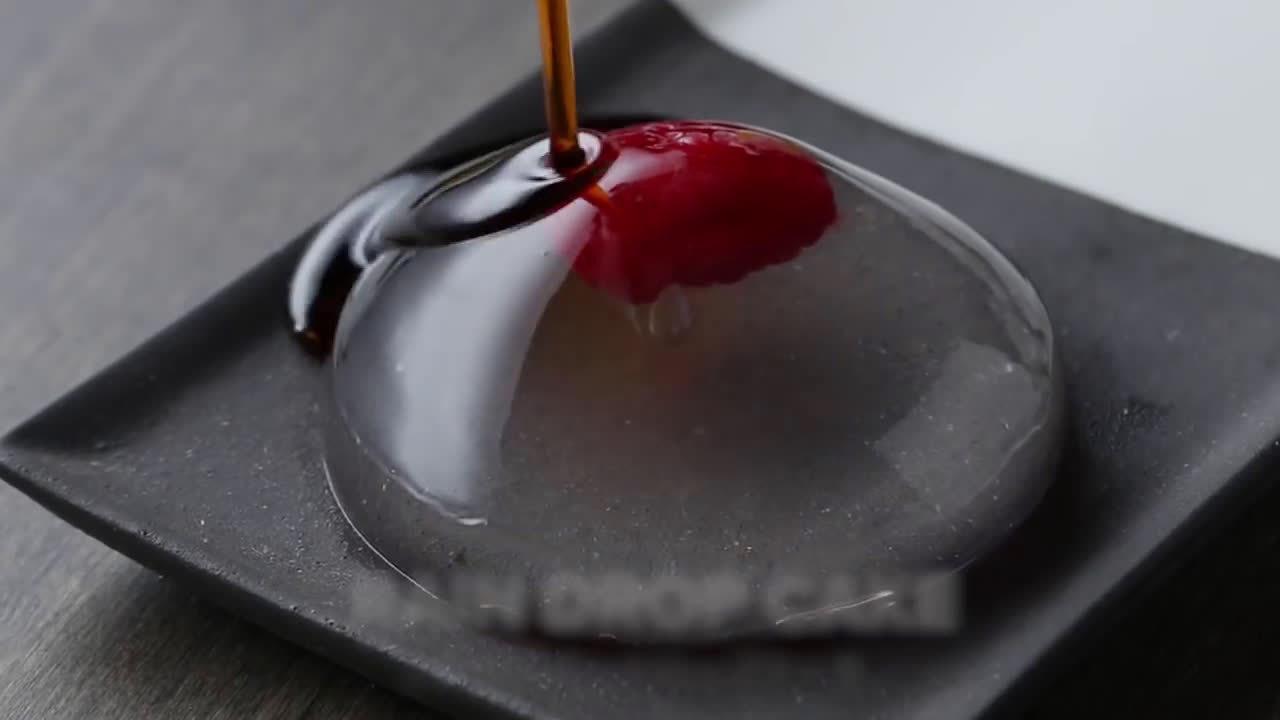 日本雨滴蛋糕走红全球,你吃过吗?