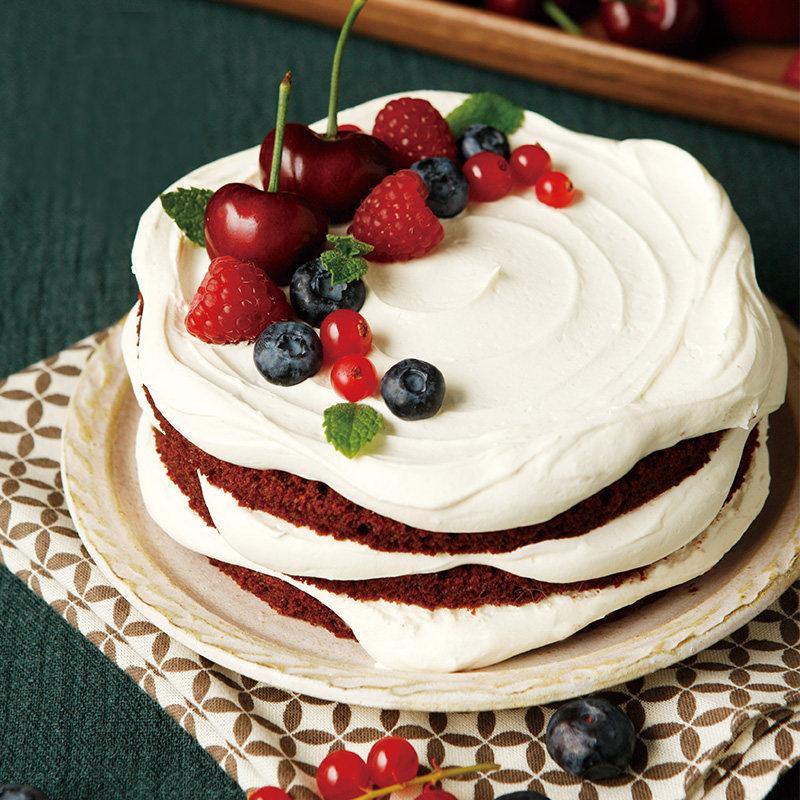 红丝绒圆舞曲蛋糕