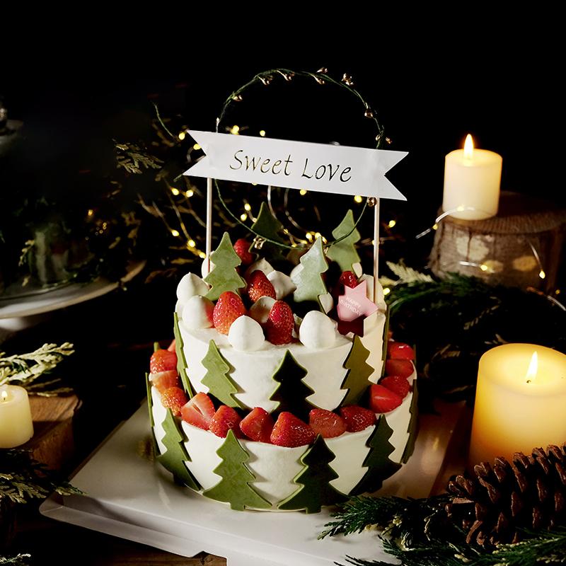 北欧森林-双层网红蛋糕