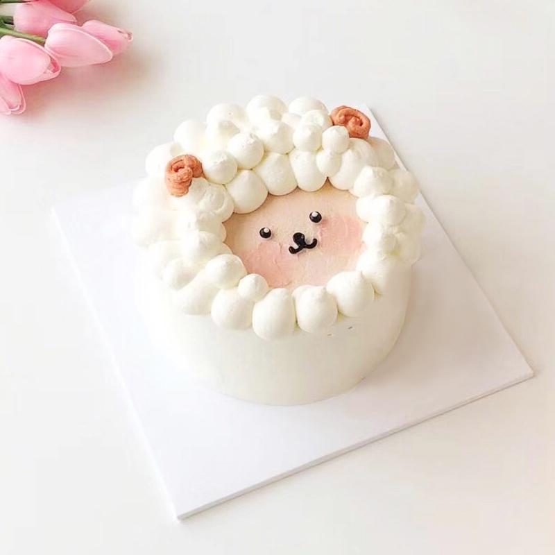 懒洋洋儿童奶油蛋糕