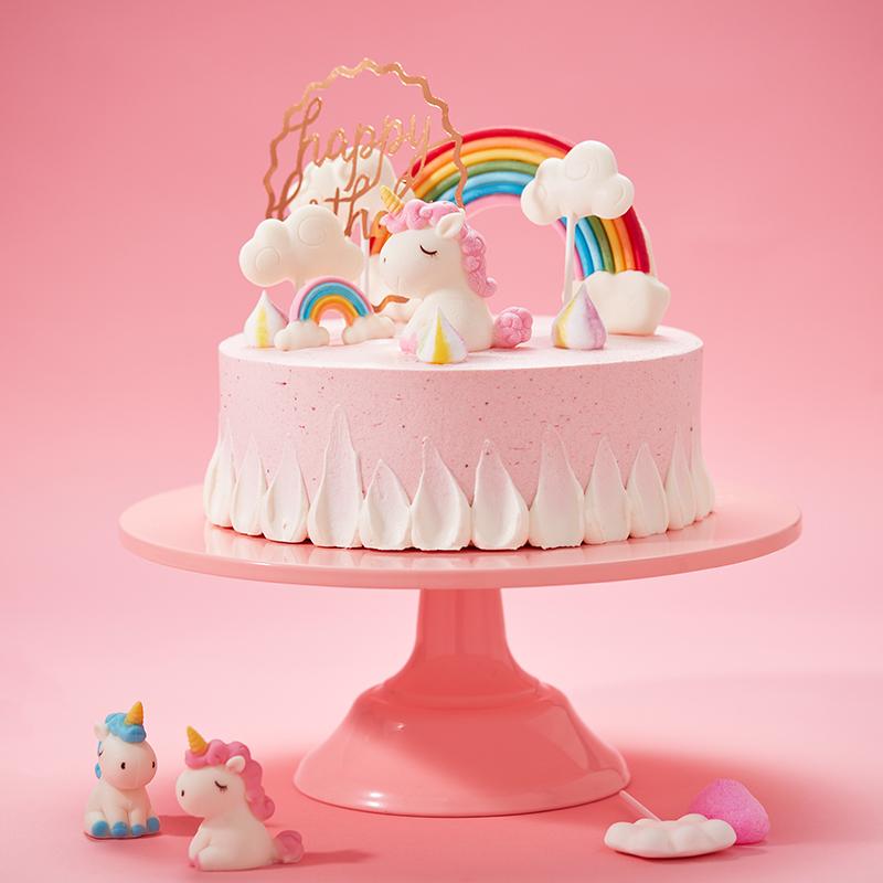 独角兽奶油儿童蛋糕
