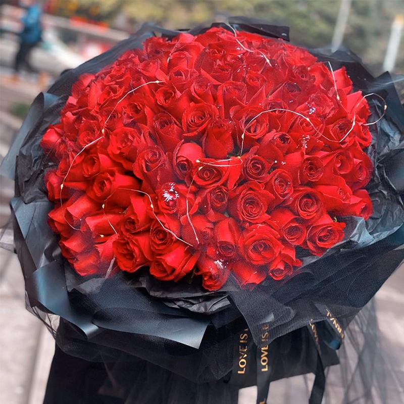专属宠爱-99支精品红玫瑰