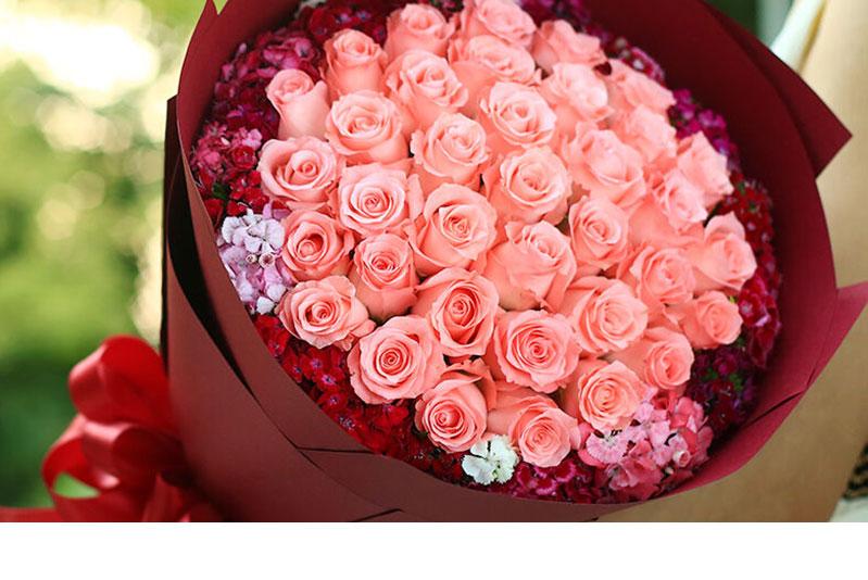 爱人生日送什么花
